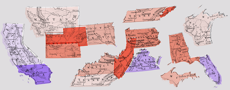 How 13 Rejected States Would Have Changed The Electoral College ...